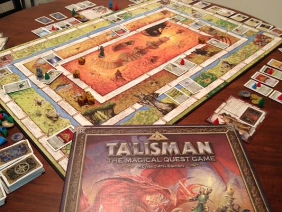Talisman il fantasy di un tempo isola illyon - Talisman gioco da tavolo ...