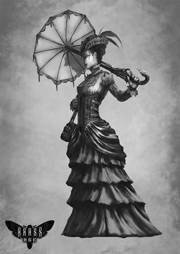 """[...] Shelly Webster, """"Miss Wolf's Bane"""", come la chiamavano gli altri, comparve sulla sinistra, ancheggiando fin sotto il cono di luce del lucernario.[...]"""