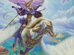 Arconte Celestiale | Artwork di Matt Stewart