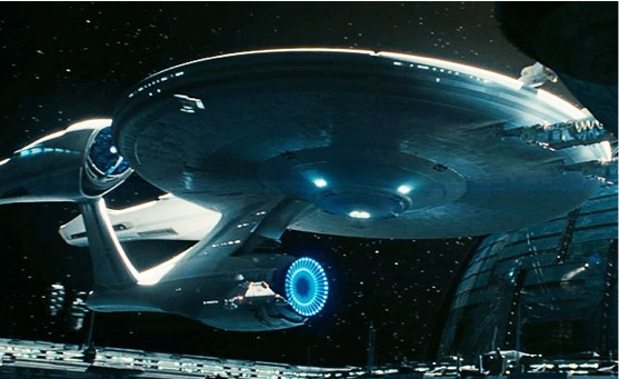 La Enterprise che compare in Star Trek: Into Darkness