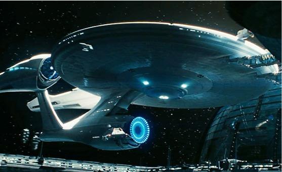 La Enterprise che compare in Star Trek: Into Darkness