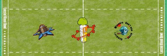 Il campo di gioco di Blood Bowl