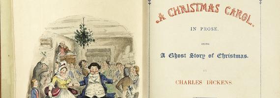 """""""Una storia di fantasmi del Natale"""""""
