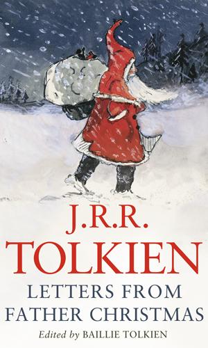 """Una delle innumerevoli copertine delle edizioni di """"Lettere da Babbo Natale"""" di J.R.R.Tolkien"""