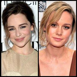 A sinistra Emilia Clarke. A destra Brie Larson. Quale la migliore Sarah Connor?