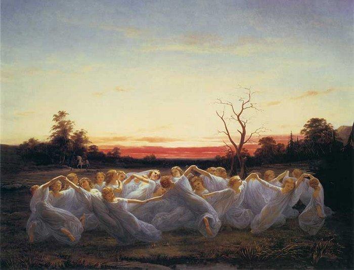 Ängsälvor - Nils Blommér - 1850