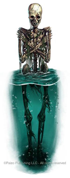 Una delle illustrazioni di Emiliano per la Paizo Publishing LLC