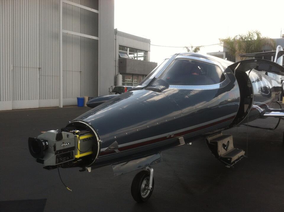 Imax on jet