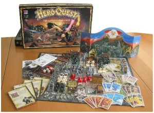 Heroquest_GameSet-board-game-complete-contents