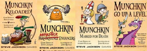 Almeno in Munchkin le espansioni, seppur tante, non sono necessarie a debuggare il gioco