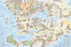 Mappa di Forgotten Realms