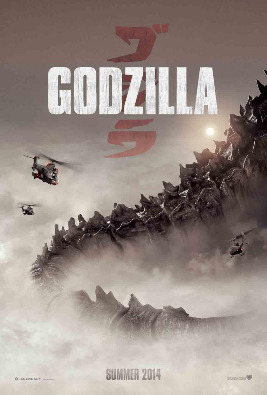 Poster ufficiale di Godzilla