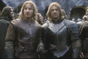 Boromir e il fratellino Faramir