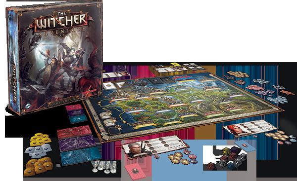 The witcher adventure game il gioco da tavolo su geralt for The witcher juego de mesa
