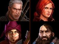 The-Witcher_CharacterPortraits