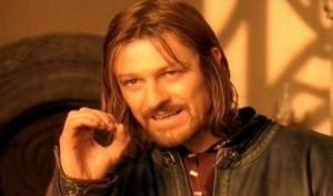 Non è così facile criticare Boromir e restarne impuniti