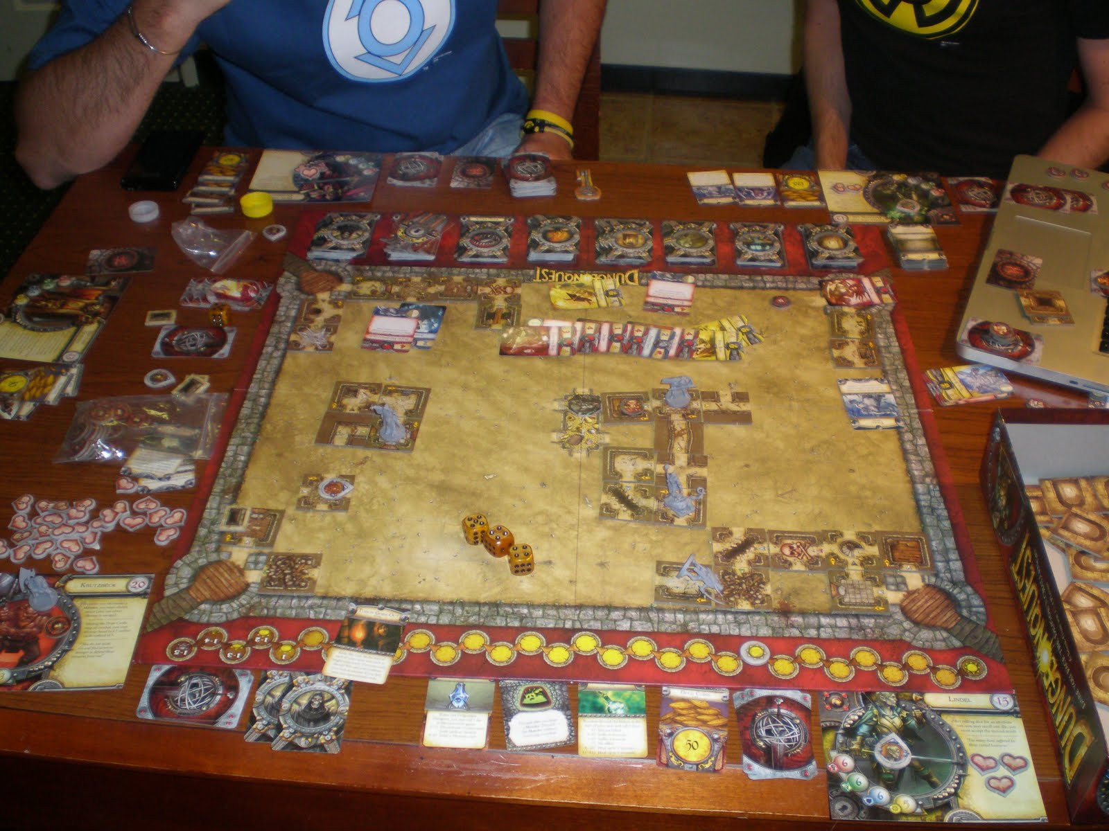 Inside terrinoth dungeonquest isola illyon - Dungeon gioco da tavolo ...