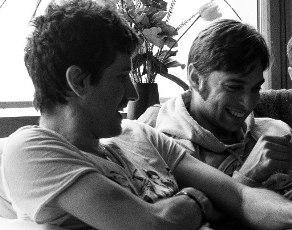 Alvaro J. Arata e Matteo Marchisio in un momento di intimità.