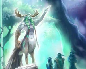Cenarius ha istruito i grandi eroi Malfurion, Tyrande e Illidan.