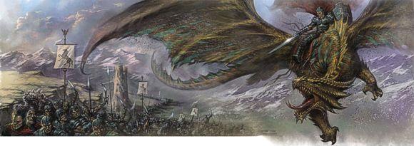 La celeberrima cover di Lucio Parrillo per Power of Faerun di Eberron
