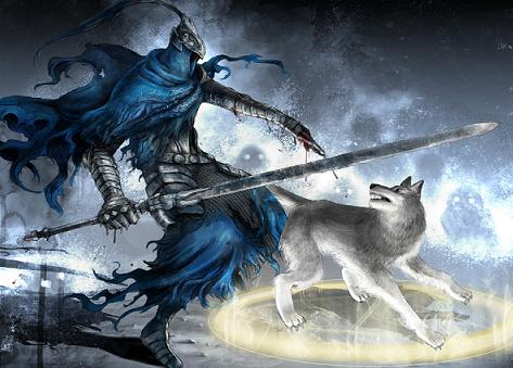 artorias and sif 1