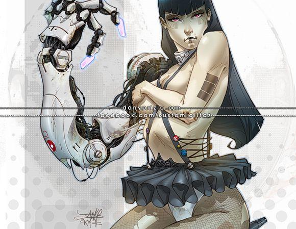 """Un'altra dell """"Lolitaz"""" di Dany. Cibernetica, la signorina..."""