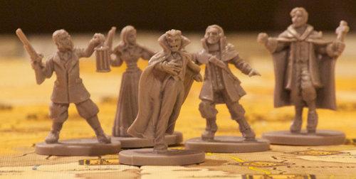 Le MIniature di Dracula e dei Cacciatori