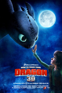 dragon trainer - poster