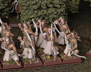 Lo schema di colori degli Elfi Silvani ricorda l'andirivieni delle stagioni.