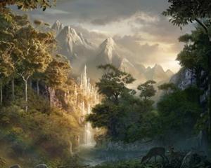 In Tolkien ad esempio la natura ha carattere evocativo, un po' come i nostri antenati concepivano e percepivano il mondo naturale che li circondava.