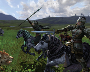 """Con l'espansione """"Riders of Rohan"""" è stato introdotto il combattimento a cavallo."""
