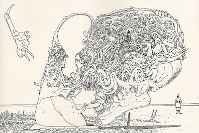 Un disegno di Arzach.