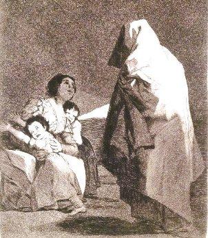 l'acquatinta di Goya esposta al Brooklyn Museum