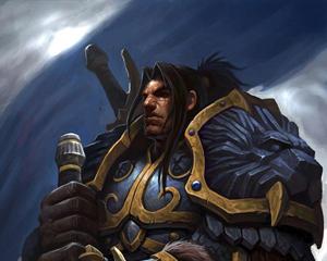Re Varian Wrynn, sovrano di Stormwind.