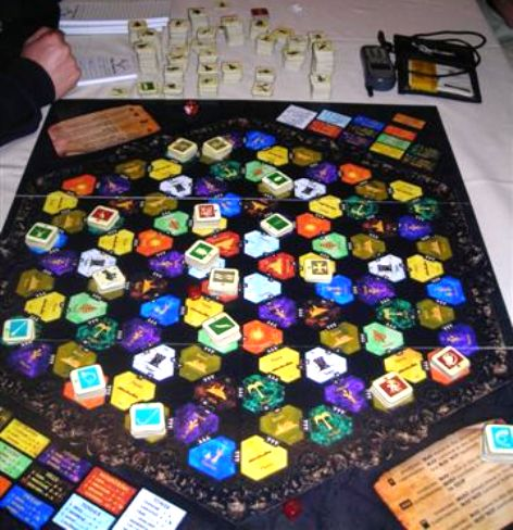 Una partita a Titan in corso d'opera