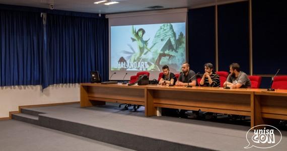 La conferenza della Scuola del Fumetto di Salerno moderata da noi isolani!