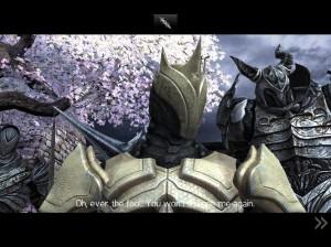 Raidriar, il Re Dio, nella sua nuova armatura