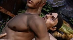 Agli elfi maschi viene concesso, al massimo, di avere rapporti bisessuali.
