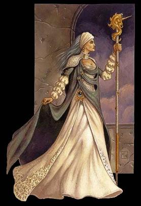 Lady Alustriel, pettinata come mia nonna buonanima