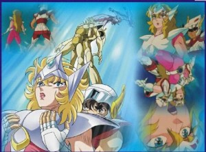 saint seiya romance rolling crash