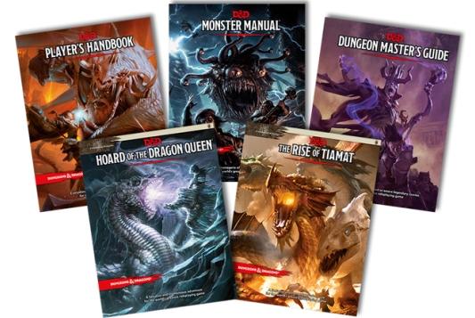 I manuali del nuovo D&D