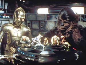 """Anche nei giochi strategici klingon vale la regola """"fai vincere il wookie""""."""