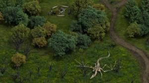 Anche a voi sembra uno scheletro di drago? Gli sviluppatori dicono che il numero di lucertole volanti sarà compreso fra 0 e 2.000... Mah!