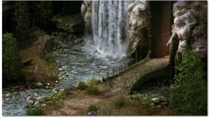 Una delle immagini della prima build del gioco: paesaggi mozzafiato, disegnati con cura maniacale