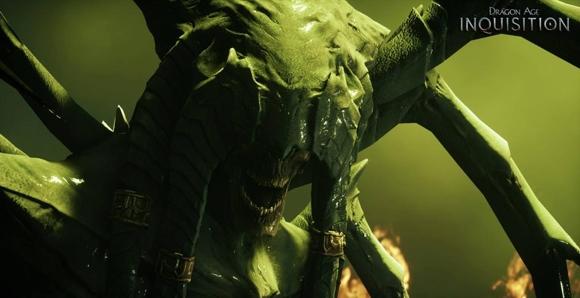 Questo simpaticone è un Demone della Fame, pur sembrando un incrocio tra Alien e Diablo (copyright EA International)