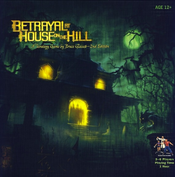 Betrayal in House on the Hill