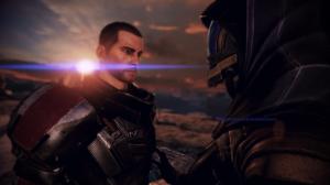 Il comandante Shepard e Tali'Zorah