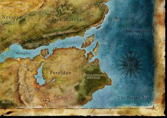 Dragon Age mappa Thedas