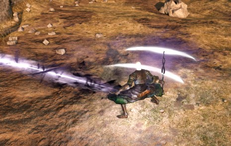 dark greatsword in azione