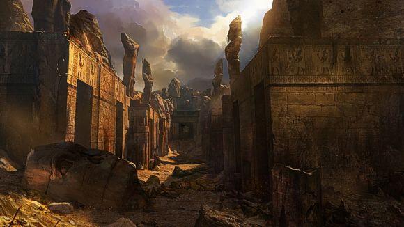 Rovine dimenticate, città sepolte nelle sabbie...ok, chi va avanti per primo?